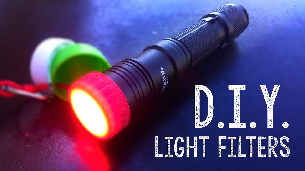 DIY Flashlight Light Filters/Diffuser   YouTube