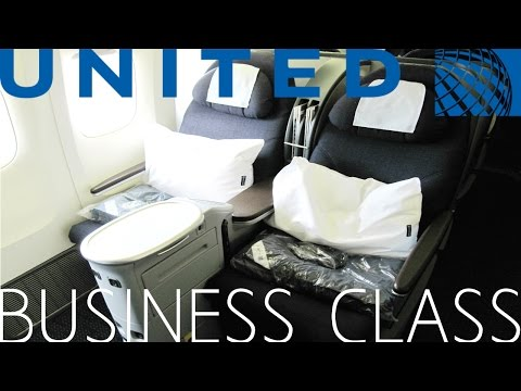 United Airlines BUSINESS CLASS (BUSINESS FIRST) London to Los Angeles|Boeing 777-200ER