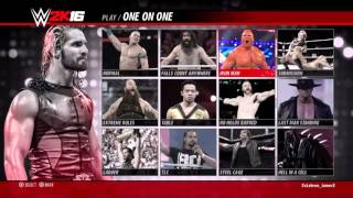 WWE 2K16: Leave Me Alone and Celtic Warrior Trophy Guide
