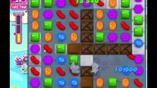Candy Crush Saga - Level 1163  No boosters - 2 Stars✰✰