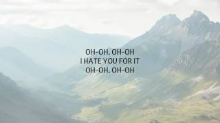 CHAD BROWNLEE - I HATE YOU FOR IT LYRICS