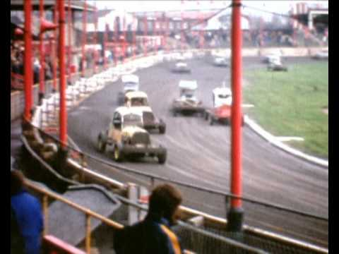old stock car racing belle vue 1974