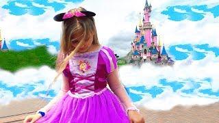 ALICE in Wonderland ! DISNEY Princess , Rapunzel NEW Story and Frozen