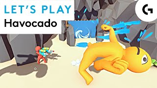 STICK FIGHT MEETS GANGBEASTS - Let's play Havocado