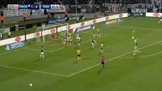 ΠΑΟΚ-Παναιτωλικός 2-0 Το γκολ του Ακπόμ