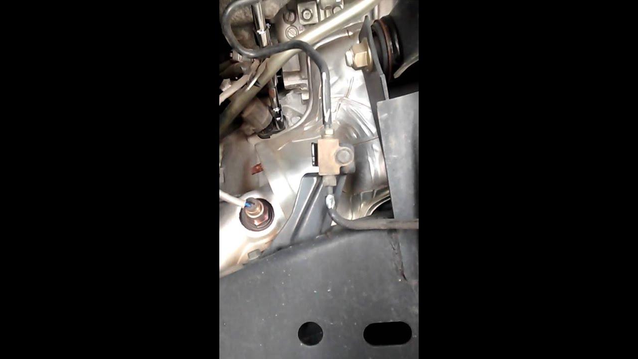2010 Nissan Frontier Crankshaft position sensor