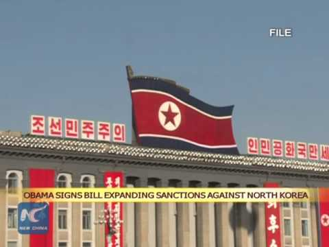 Obama Signs Bill Expanding Sanctions Against North Korea - White House