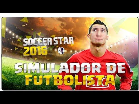 SIMULADOR DE FUTBOLISTA   SOCCER STAR 2016   JUEGOS GRATIS ANDROID   GAMEPLAY ESPAÑOL + DESCARGAR