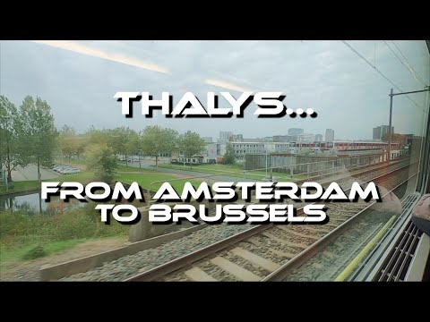 Thalys trip review. From Amsterdam to Brussels.