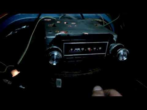 AC Delco AM Radio Test