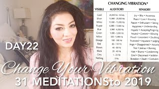 31 MEDITATIONSto 2019- Day 22- How To Change Vibration