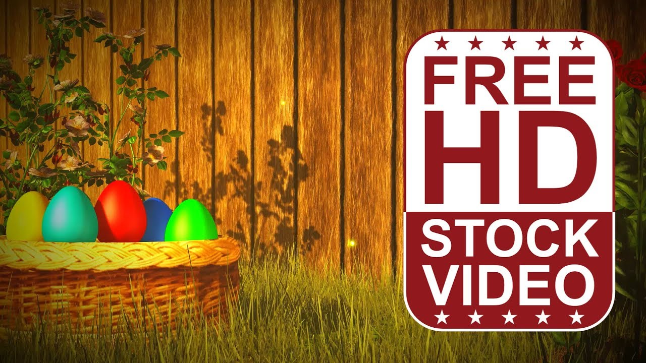 Free Hd Video Backgrounds Celebrations Easter Greeting Card With