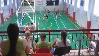 Детский баскетбольный лагерь на Заимке День 4