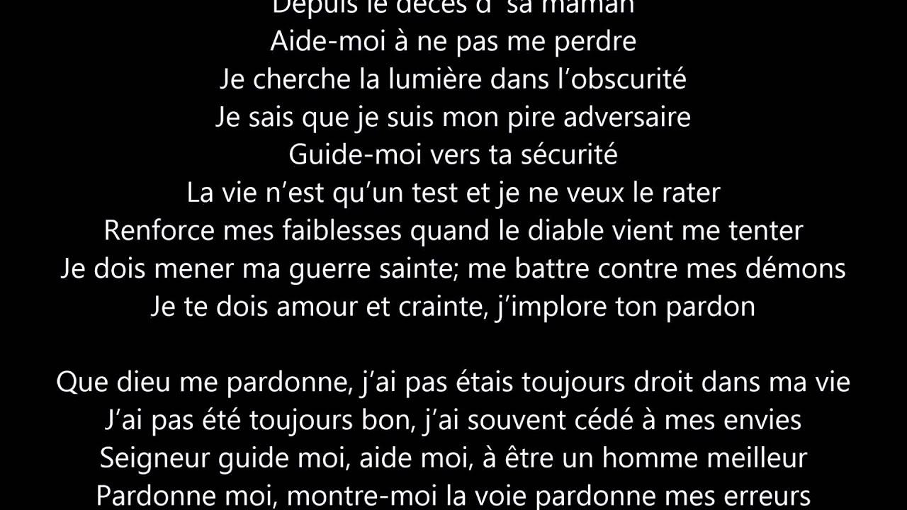 """Connu Paroles """"Que Dieu me pardonne"""" Blacko - YouTube ZP99"""