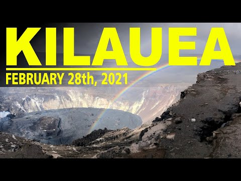 Hawaii Volcano Watch Report Update - Kilauea Eruption and the Lava Lake