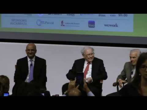 Nitin Nohria Interviews Jorge Paulo Lemann and Warren Buffett, intro by Larissa Maranhão