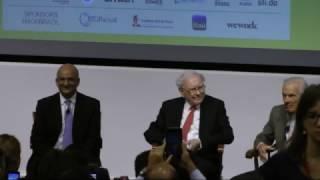 Nitin Nohria Interviews Jorge Paulo Lemann and Warren Buffett, intro by Larissa Maranhão