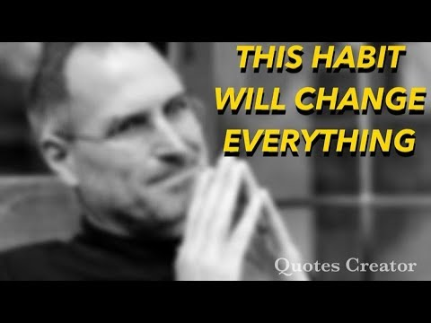 The most POWERFUL habit of successful | How successful people Separate themselves from others