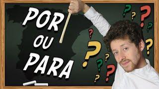 POR ou PARA en Espagnol..? 🤔🙄 La Différence pour ne plus les confondre !✅