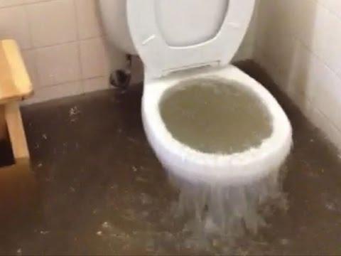 Bathroom Flooded