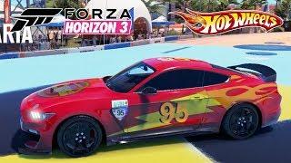 Hot Wheels Corridas com o Carro Relampago Mcqueen - Forza Horizon 3