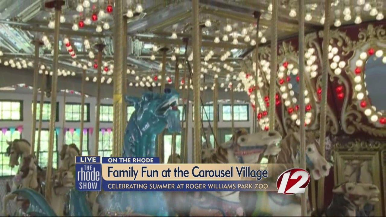 Fun happenings in Roger Williams Park Carousel Village YouTube