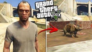 TREVOR becomes a NASTY RAT (GTA 5 Mods)