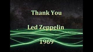 Led Zeppelin - Thank You - Lyrics s Prijevodom