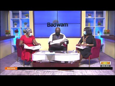 Badwam Newspaper Review on Adom TV (21-9-21)