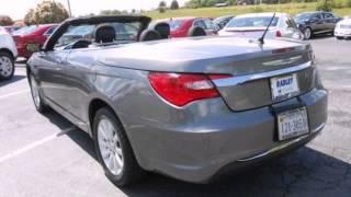 2012 Chrysler 200 Convertible Fredericksburg VA Price Quote, VA #CAP3031 - SOLD