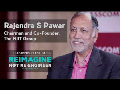 Rajendra S Pawar, Chairman and Co-Founder of the NIIT Group, NIIT Technologies || NILF 2017