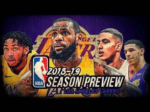 2018-19 NBA Season Preview: Los Angeles Lakers: LeBron James | Brandon Ingram | Lonzo Ball