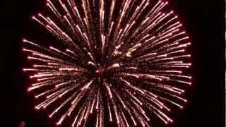 Fireworks - Fr. Hennepin Days - Anoka, MN 2012