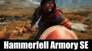 SKYRIM MOD QUICKIE #26 - Hammerfell Armory SE