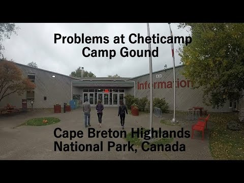Cheticamp Campground |  Cape Breton | Highlands National Park | Nova Scotia | Canada