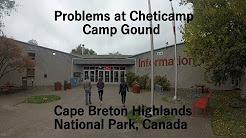 Cheticamp Campground |  Cape Breton | Highlands National Park | Nova Scotia | Canada