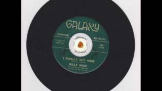 BILLY KEEN (KEENE) - I FINALLY GOT WISE - GALAXY LABEL NORTHERN SOUL CLASSIC