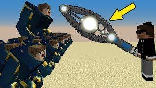 МОД НА НУБ против 1000 КЛОНОВ НУБОВ из ЛАКИ БЛОКОВ - Троллинг НУБА в Minecraft Серия 17