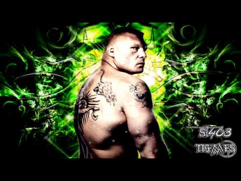 "Brock Lesnar 7th WWE Theme Song ""Next Big Thing"" [High Quality + Download Link] ᴴᴰ"