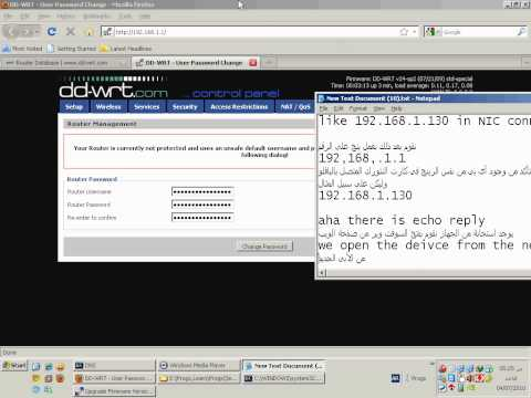 Install DD-WRT On WHR-HP-G54 Part 2