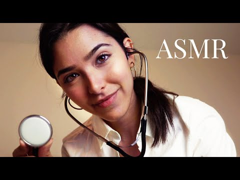 ASMR At Home Doctor (Gloves, Cranial Nerve Exam, Personal attention, Light trigger...)
