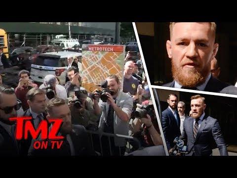 Conor McGregor at Court, 'I Regret My Actions' | TMZ TV