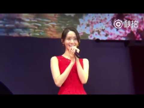 [Fancam] 160730 Yoona - Deoksugung Stonewall Walkway LIVE at Blossom FM in Shanghai