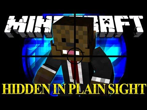 Minecraft IMPOSTER MOD Hidden In Plain Sight Minigame w/ AntVenom and Bashur