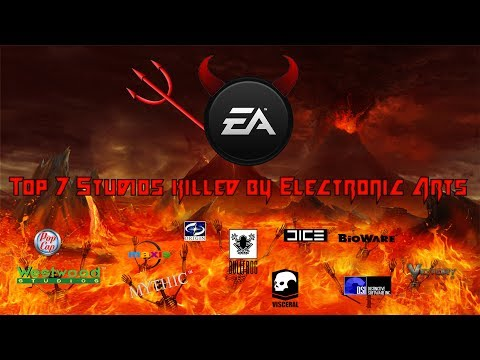 Top 7 Studios killed by Electronic Arts (EA)