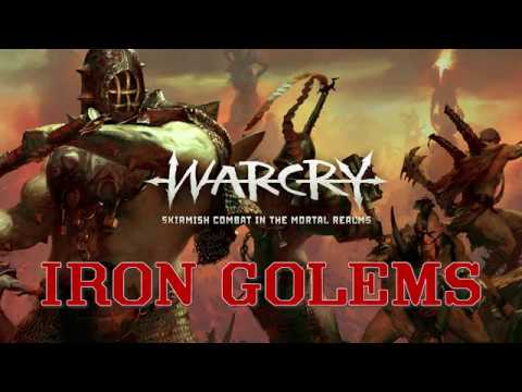 Warcry: Iron Golems Listbuilding with Math