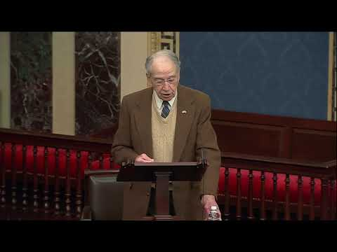 Grassley on the Anniversary of President Biden's Russia Reset Announcement