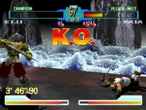 Battle Arena Toshinden 2 Plus Psx Game Sample Youtube