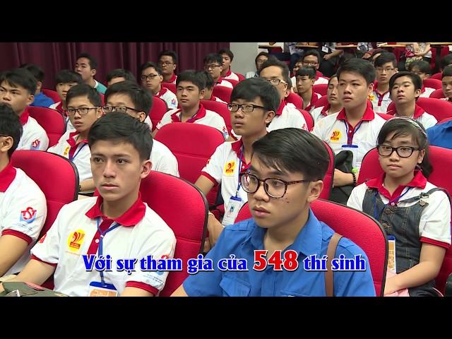 Hội thi Tin học trẻ TP.HCM năm 2017 - Kết nối và lan tỏa niềm đam mê tin học