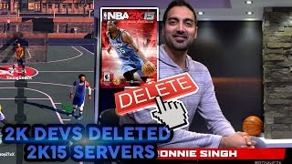 2k devs deleted nba 2k15 servers for money say goodbye throwback gameplay smh nba 2k17 mypark